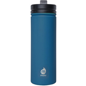 MIZU M9 Bottle with Straw Lid 900ml enduro blue